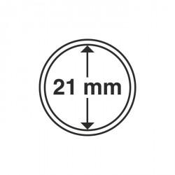 Cápsulas de monedas diámetro interior 21 mm