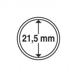 Cápsulas de monedas diámetro interior 21,5 mm
