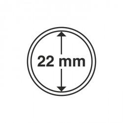 Cápsulas de monedas diámetro interior 22 mm