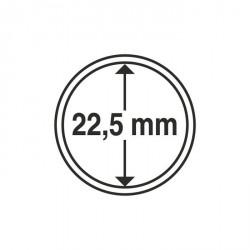 Cápsulas de monedas diámetro interior 22,5 mm