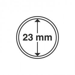 Cápsulas de monedas diámetro interior 23 mm
