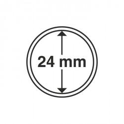 Cápsulas de monedas diámetro interior 24 mm