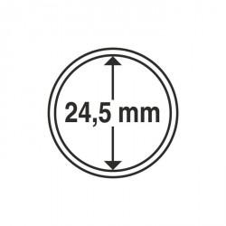 Cápsulas de monedas diámetro interior 24,5 mm