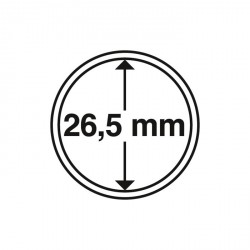 Cápsulas de monedas diámetro interior 26,5 mm