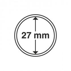 Cápsulas de monedas diámetro interior 27 mm
