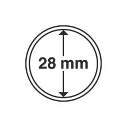 Cápsulas de monedas diámetro interior 28 mm