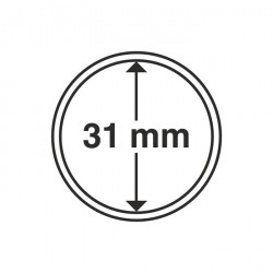 Cápsulas de monedas diámetro interior 31 mm