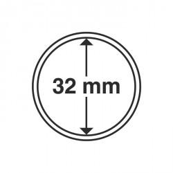 Cápsulas de monedas diámetro interior 32 mm