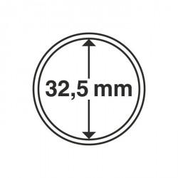 Cápsulas de monedas diámetro interior 32,5 mm