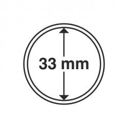 Cápsulas de monedas diámetro interior 33 mm
