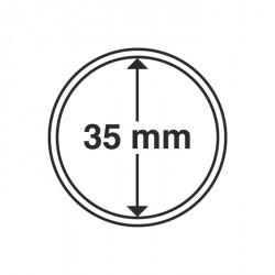 Cápsulas de monedas diámetro interior 35 mm