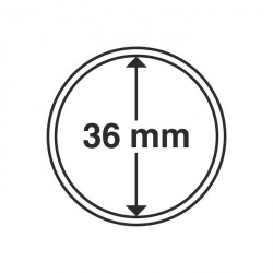 Cápsulas de monedas diámetro interior 36 mm