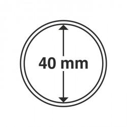 Cápsulas de monedas diámetro interior 40 mm