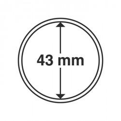 Cápsulas de monedas diámetro interior 43 mm