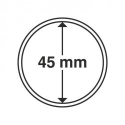 Cápsulas de monedas diámetro interior 45 mm