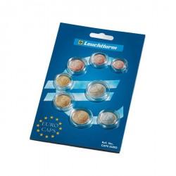 Cápsulas para una serie de monedas de Euro de curso legal
