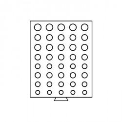 Bandeja para series de monedas de 5 Euros de curso legal, color humo