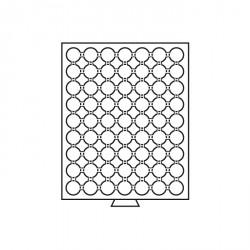 Bandeja para monedas 63 divisiones para CAPS 20, color humo