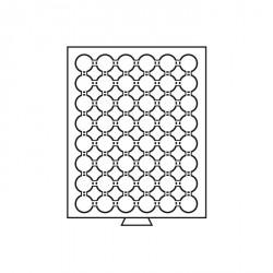 Bandeja para monedas 48 divisiones para CAPS 23, color humo
