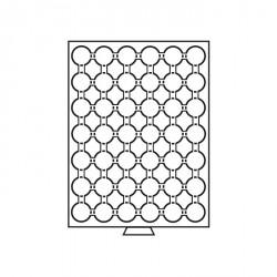 Bandeja para monedas 42 divisiones para CAPS 24.5, color humo