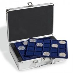 Maletín para 120 monedas de 10 Euros en cápsulas, incl. 6 bandejas