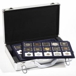 Maletín CARGO L6, para 90 QUADRUM-cápsulas monedas, incl. 6 bandejas, negro