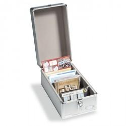 Maletín de coleccionismo CARGO, para tarjetas postales o series de monedas