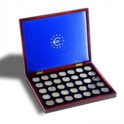 Estuche para monedas VOLTERRA UNO de Luxe, para 35 monedas de 2 Euros en cápsulas