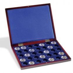 Estuche para monedas VOLTERRA UNO de Luxe, para 35 monedas en cápsulas con un Ø de 33,5 mm