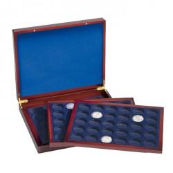 Estuche para monedas VOLTERRATRIO de Luxe, para 90 monedasalem.de 10€ en cáps originales