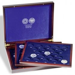 Estuche para monedas VOLTERRA TRIO de Luxe, para 61 conmem. alem. de 10-DM en cápsulas