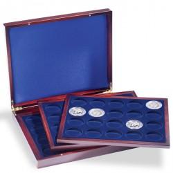 Estuche para monedas VOLTERRA TRIO de Luxe, cada una para 20 monedas de 41 mm Ø en cáps