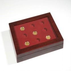 Estuche para monedas VOLTERRA DUO, 100 EURO oro