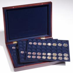 Estuche para monedas VOLTERRA TRIO, para 6 series de monedas de euro en cápsulas
