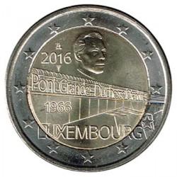 Luxemburgo 2016 2 Euros 50 Años del Puente de la Gran Duquesa Carlota S/C
