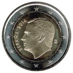 España 2016 2 Euros Felipe VI S/C