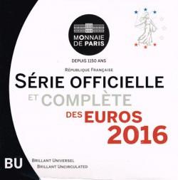 Francia 2016 Cartera Oficial S/C