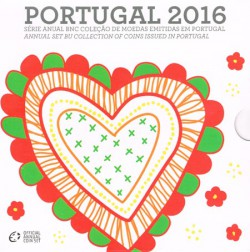 Portugal 2016 Cartera Oficial S/C