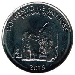 Panamá 2015 1/2 Balboa (Convento de San José) S/C