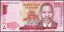 Malawi 100 Kwacha PK Nuevo (1-1-2.014) S/C