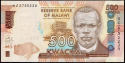 Malawi 500 Kwacha PK Nuevo (1-1-2.014) S/C