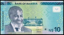 Namibia 10 Dólares PK Nuevo (2.015) S/C