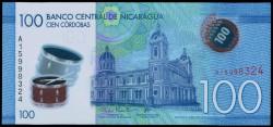 Nicaragua 100 Córdobas PK Nuevo (2.014) S/C