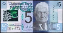 Escocia 5 Libras Pk Nuevo (13-2-2.015) S/C
