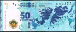 Argentina 50 Pesos PK Nuevo (2.015) S/C