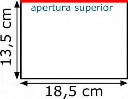 Plásticos para billetes 18.5 x 13.5 (100 unidades)