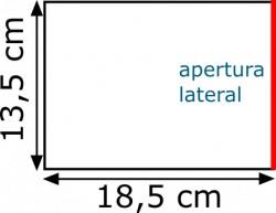 Plásticos para billetes 13.5 x 18.5 (100 unidades)