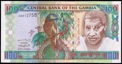 Gambia 100 Dalasis PK 24a (2001) S/C