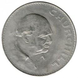 Gran Bretaña 1965 1 Corona Churchill EBC+