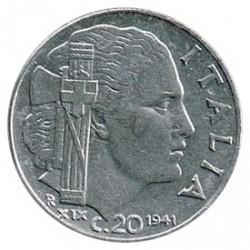 Italia 1941 20 Céntimos S/C
